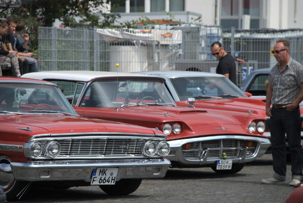 Ford Galaxie and Thunderbird